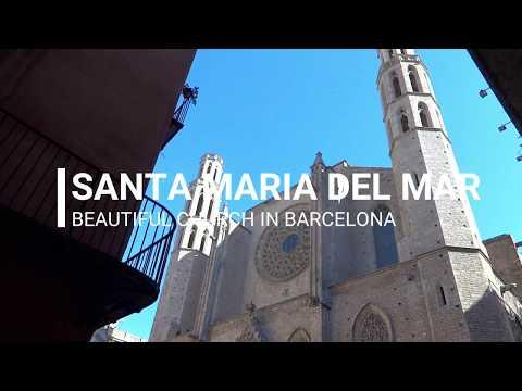 Beautiful church in Barcelona - Santa Maria del Mar