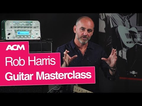 Guitar Masterclass with Jamiroquai's Rob Harris at ACM London