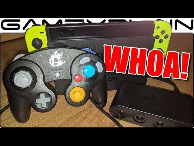 Nintendo Switchでゲームキューブコントローラーが使用可能に……?噂の