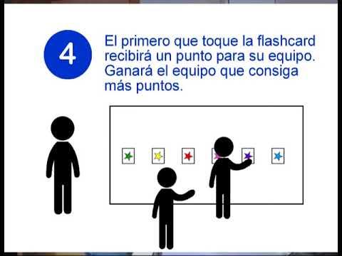 Listen Touch Juegos En Ingles Con Flashcards Youtube