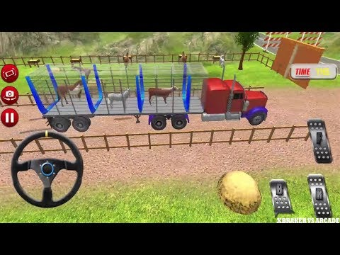 Farm Animal Transporting Truck | Zoo Animal Transport Truck - Android GamePlay FHD