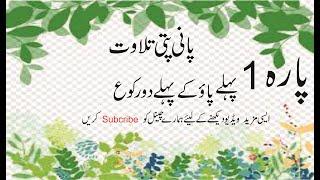panipati tilawat||Tilawat Quran||Beautiful and Heart trembling Quran Recitation|| para1 lesson No 1