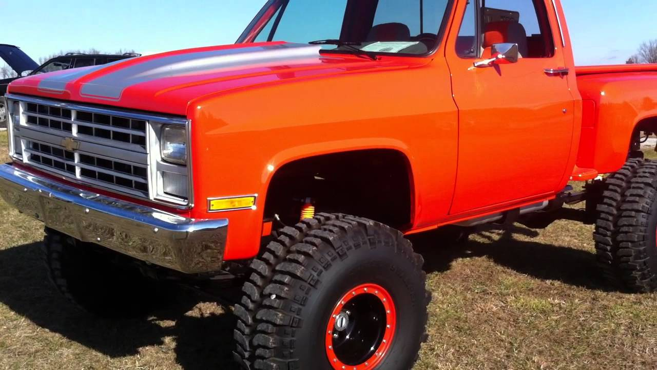All Chevy 1980 chevy k10 : 1985 chevy step side - YouTube