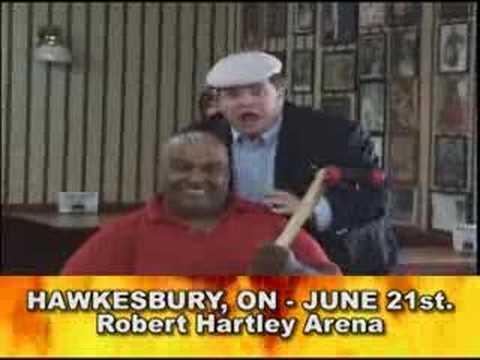 Abdullah the Butcher Promo #2 Re: June 21 Hawkesbury, ON Travel Video