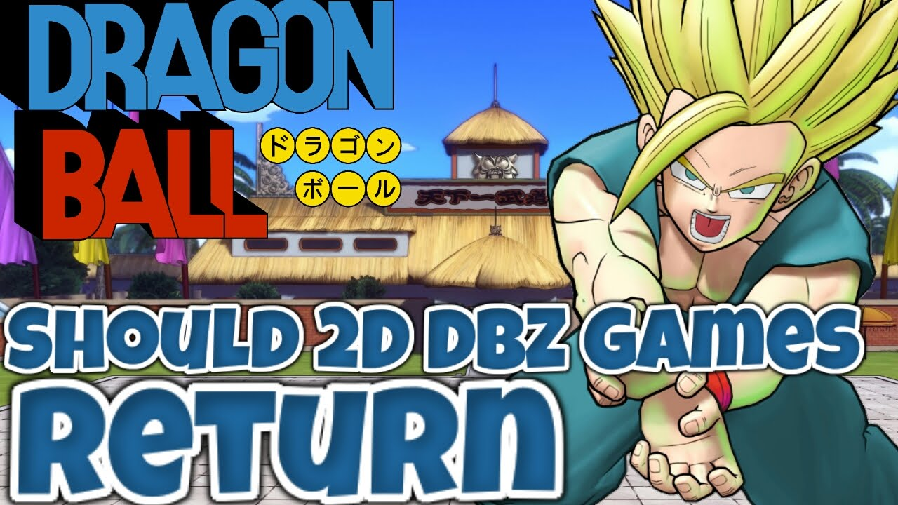 2d dragon ball z games