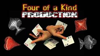 Four of a kind  with a Pop Up Production Card Trick Tutorial