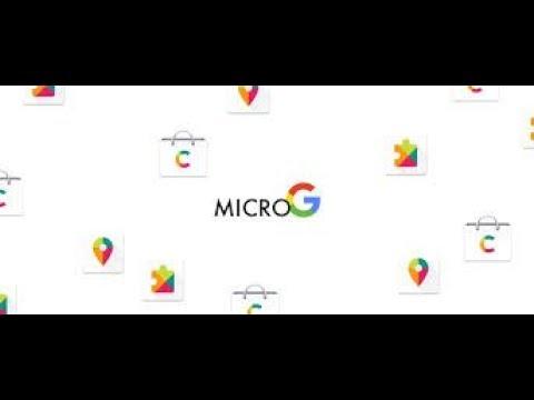 Microg login fixed!