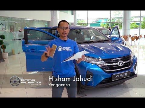 Perodua Aruz 2019 Ulasan Pandang Pertama - Roda Pusing Ringkas