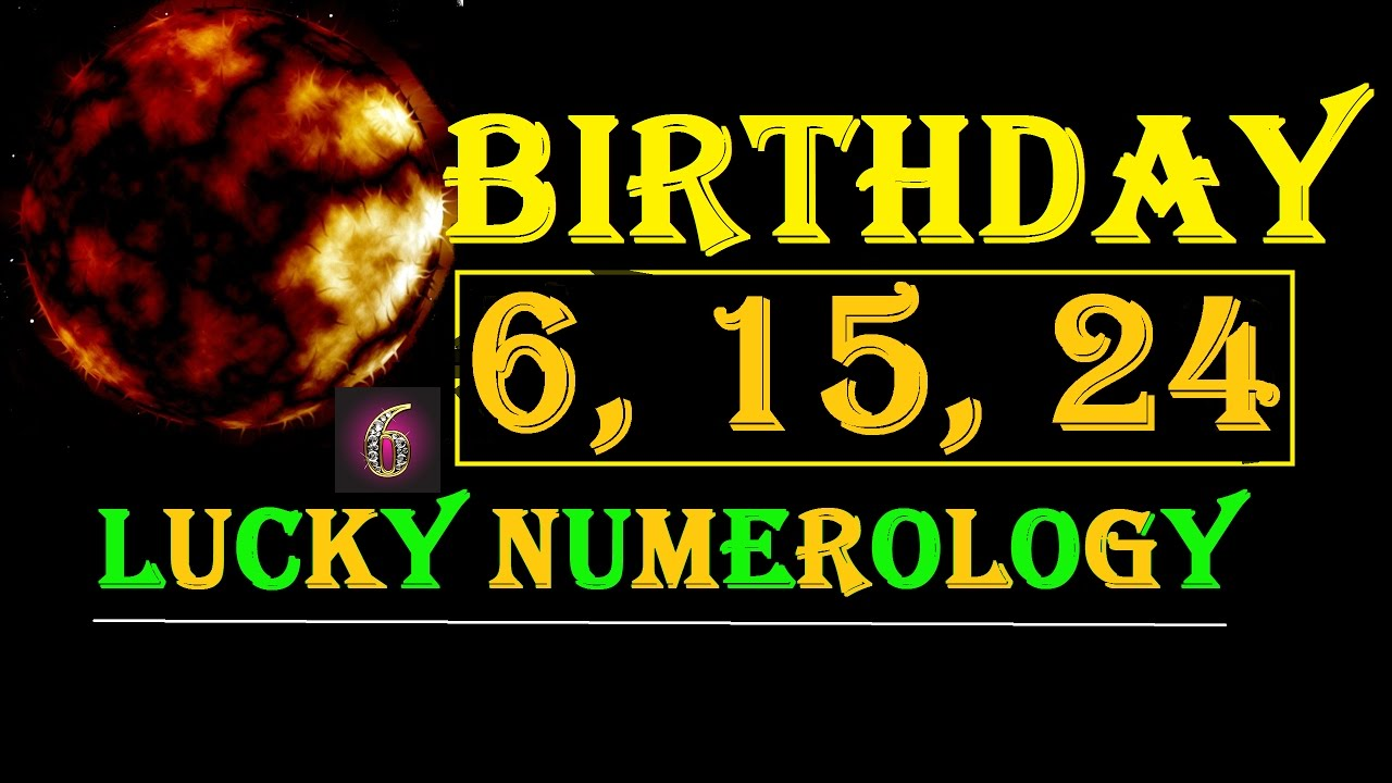 numerology for date of birth 6 march