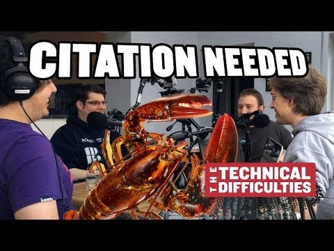 The Big Lobster and Drive-through Booze: Citation Needed 1x01