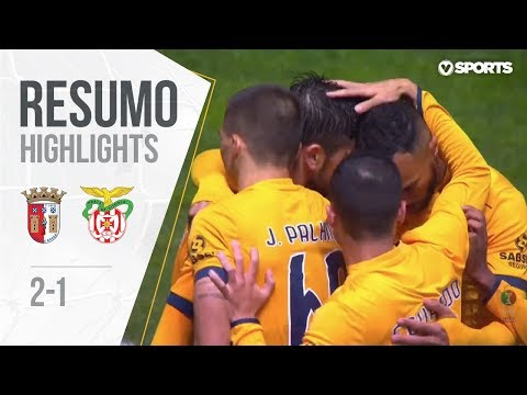 Highlights   Resumo: Sp. Braga 2-1 Praiense (Taça de Portugal 18/19 #4)