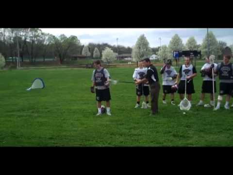 Roanoke Men's Lacrosse performs clinic at Cloverdale Elementary School