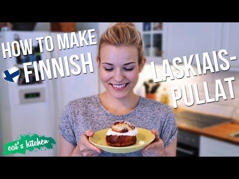 How to make Finnish LASKIAISPULLAT | Cat's Kitchen