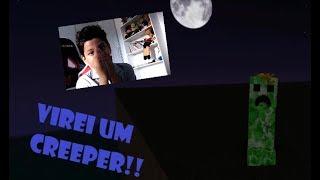 VIREI UM CREEPER NO ROBLOX!! (Roblox)