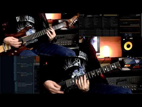 EZmix 2 Metal Guitar Gods IN ACTION !!!!