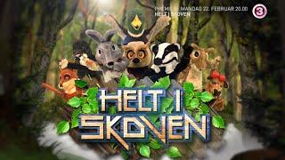 Se blandt andre Amalie og Bust i TV3's nye program 'Helt i Skoven'