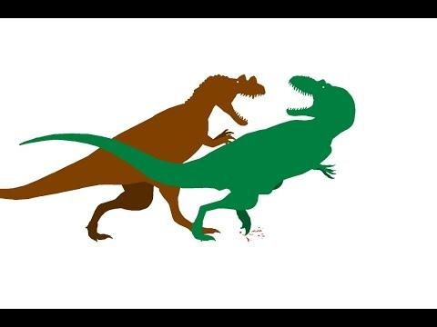 Daspletosaurus vs Ceratosaurus