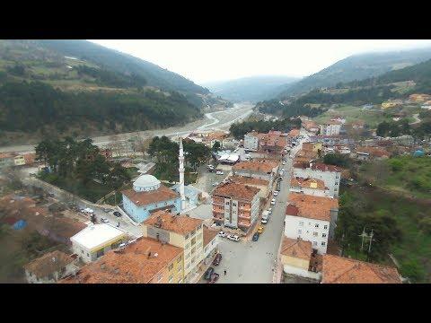 Sinop İli Dikmen İlçesi (Havadan Çekim - HD)