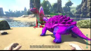 Ark Survival Evolved How to Paint your Dino