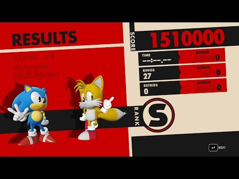 Sonic Forces: Classic Sonic Team [Showcase]