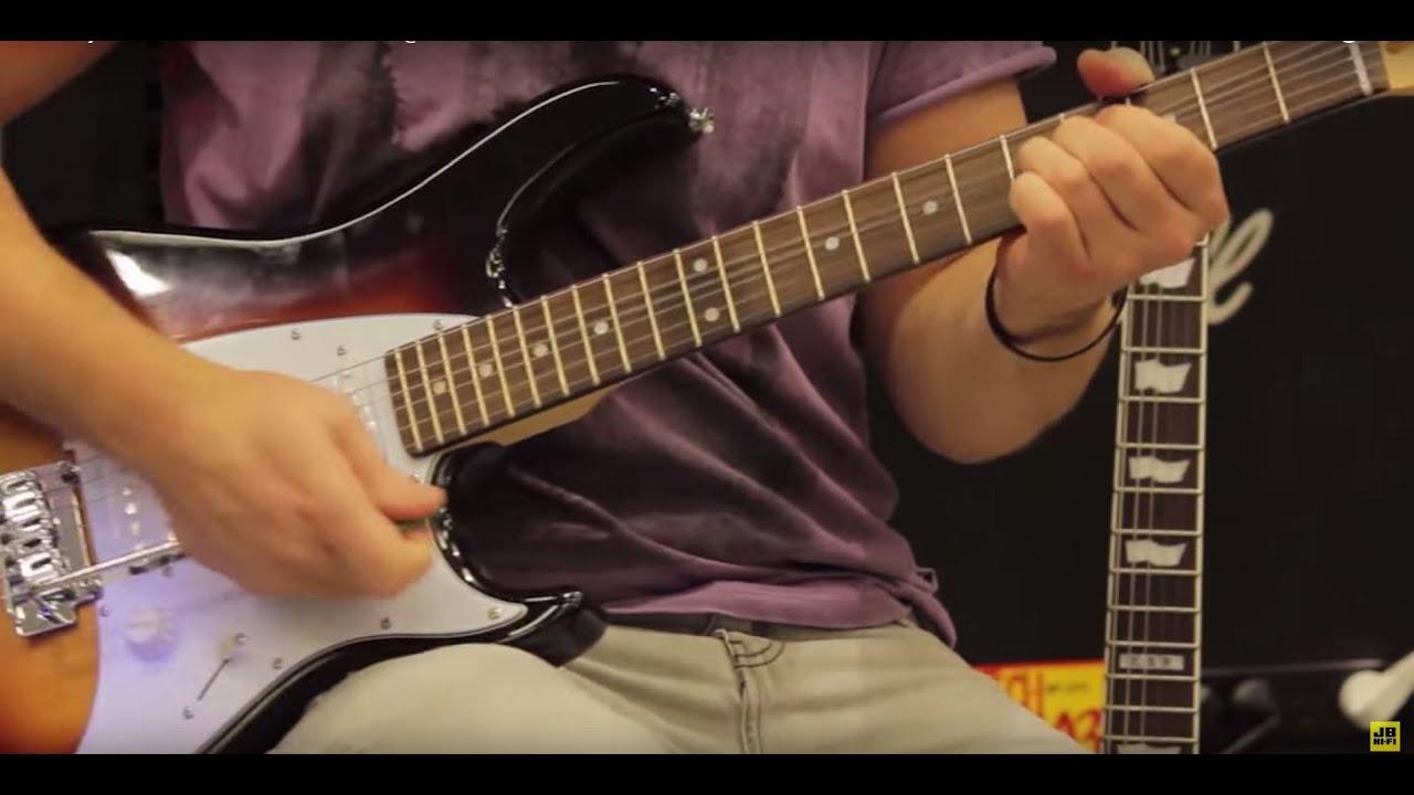 monterey mgs12sb electric guitar review jb hi fi youtube. Black Bedroom Furniture Sets. Home Design Ideas
