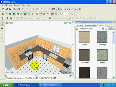 Creating Kitchen Layouts with Pro100