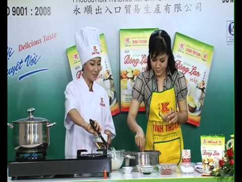 [Hướng dẫn] Làm bánh Bông Lan Hấp bằng Bột Vĩnh Thuận
