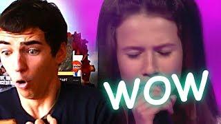 Roksana Węgiel – Purple Rain – Finał – The Voice Kids Poland    RUSSIAN REACTION
