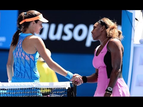 Ana Ivanovic VS Serena Williams Highlight 2014 R4
