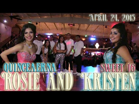 Rosie and Kristen Quinceanera Surprise Dance | sweet 16 | Baile Sorpresa | #rhythmwriterz