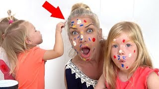 Fun Face Paint Lesson for Children - Popular Songs and Nursery Rhymes