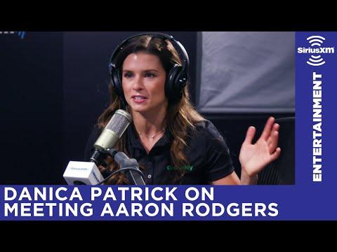 Danica Patrick on how she met boyfriend Aaron Rodgers