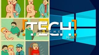 GS Times [TECH] 3 (2017). Редизайн Windows 10, смерть 3D, тест на интеллект