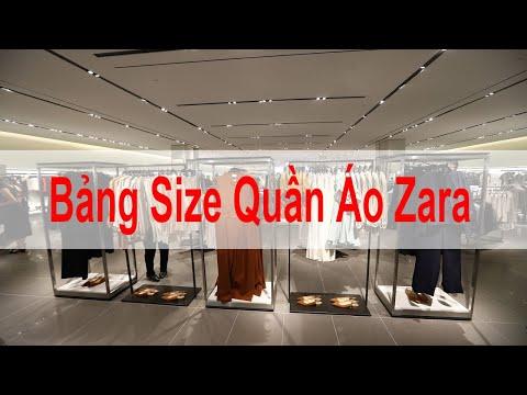 Bảng Size Quần Áo Zara Chuẩn. Mẹo Đổi Size Quần Áo Zara Cho Nam, Nữ, Kids