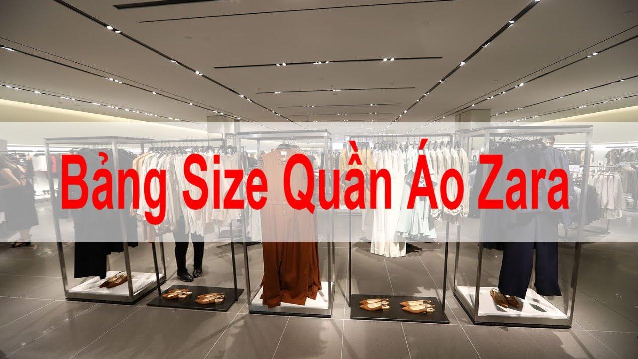 Bảng Size Quần Áo Zara Chuẩn. Mẹo Đổi Size Quần Áo Zara Cho Nam, Nữ, Kids | Tóm tắt các thông tin về thời trang zara chuẩn nhất