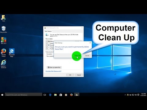 How to Clean your Computer and How to Clean disk space Windows 10 - Free & Easy