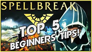 Spellbreak Top 5 Tips For Beginners!