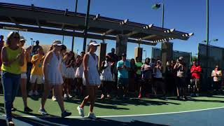 BVAL Girls Tennis 2017 Championship Wrap Up