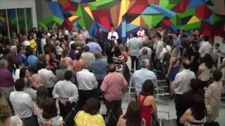 VALEIMAGEM - solenidade, benção do Padre e corte da fita de inauguração