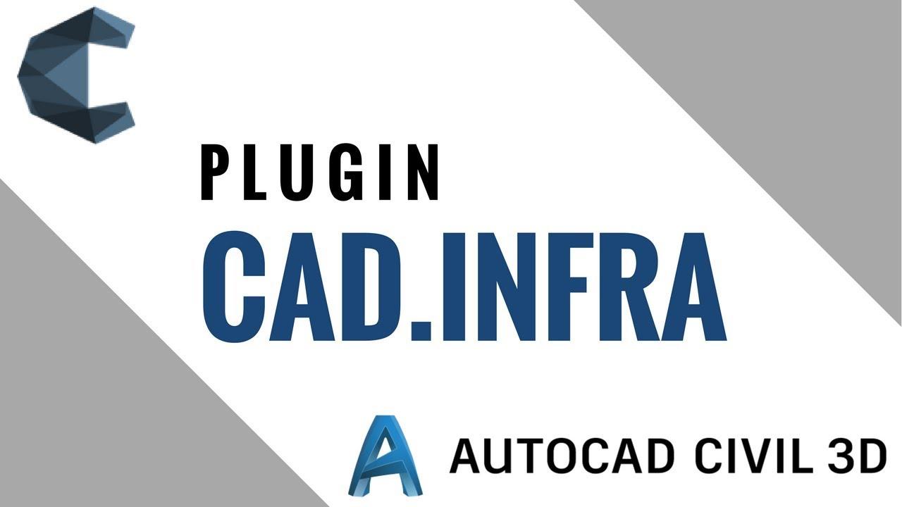 CAD.infra - Civil 3D | Plugin de Automação de Processos Repetitivos