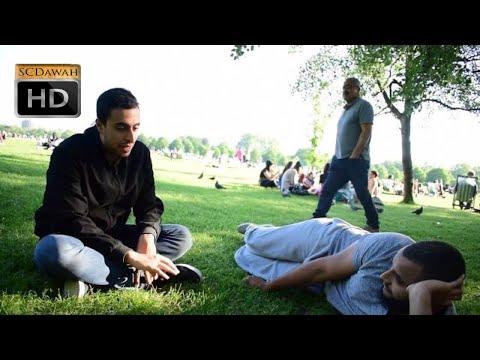 5000 Years!? Muhammad Hijab & Muslim Visitor | Speakers Corner | Hyde Park