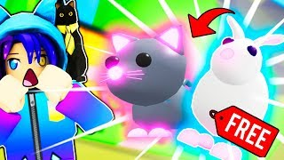 How To Get A FREE NEON PET In Roblox Adopt Me!