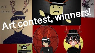 ART CONTEST WINNERS!!! (Roblox)