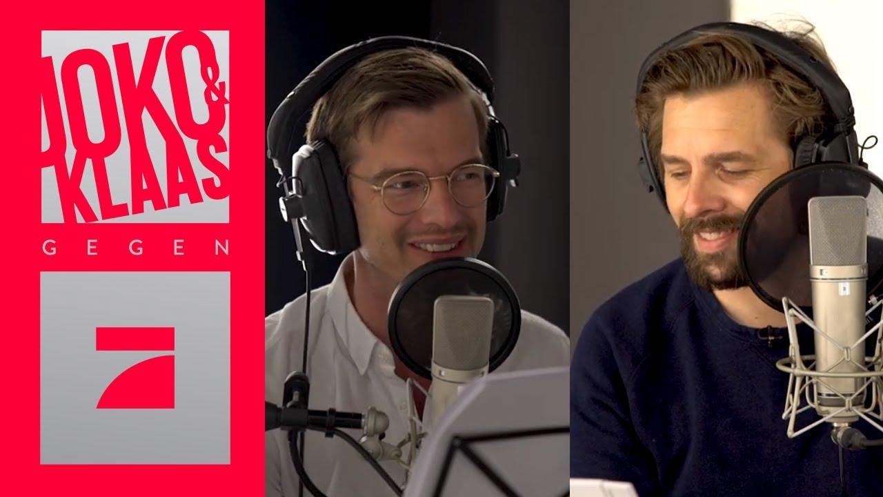 STRAFE: Joko & Klaas sprechen Trailer ein | Making Of | Joko & Klaas gegen ProSieben