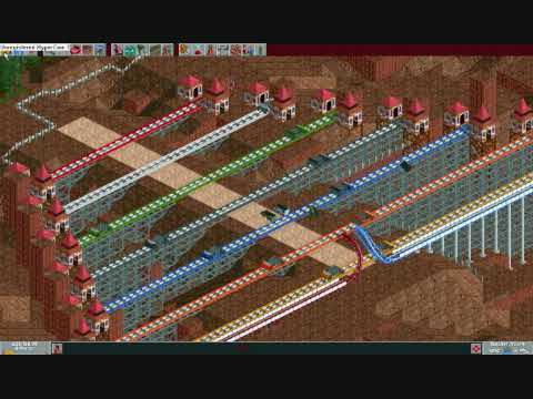 Roller Coaster Tycoon 1 Crashes