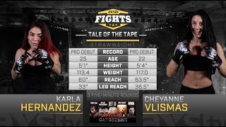 Fight of the Week: Karla Hernandez & Cheyanne Vlismas Make their Pro Debuts Inside the LFA Cage