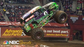 Best of Monster Jam Freestyle Skill Moves! | Motorsports on NBC