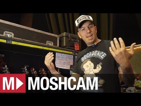Behind The Scenes | Slash's guitar tech, Ace | Guns N' Roses | Moshcam