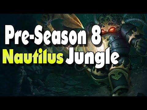 Full Pre-season 8 Nautilus Jungle | Nautilus is Pretty Busted! (League of Legends)