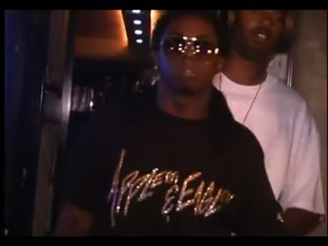 LiL Wayne freestylin in Hollygrove with Mack Maine and the Hood YMCMB Weezy Kush dvd
